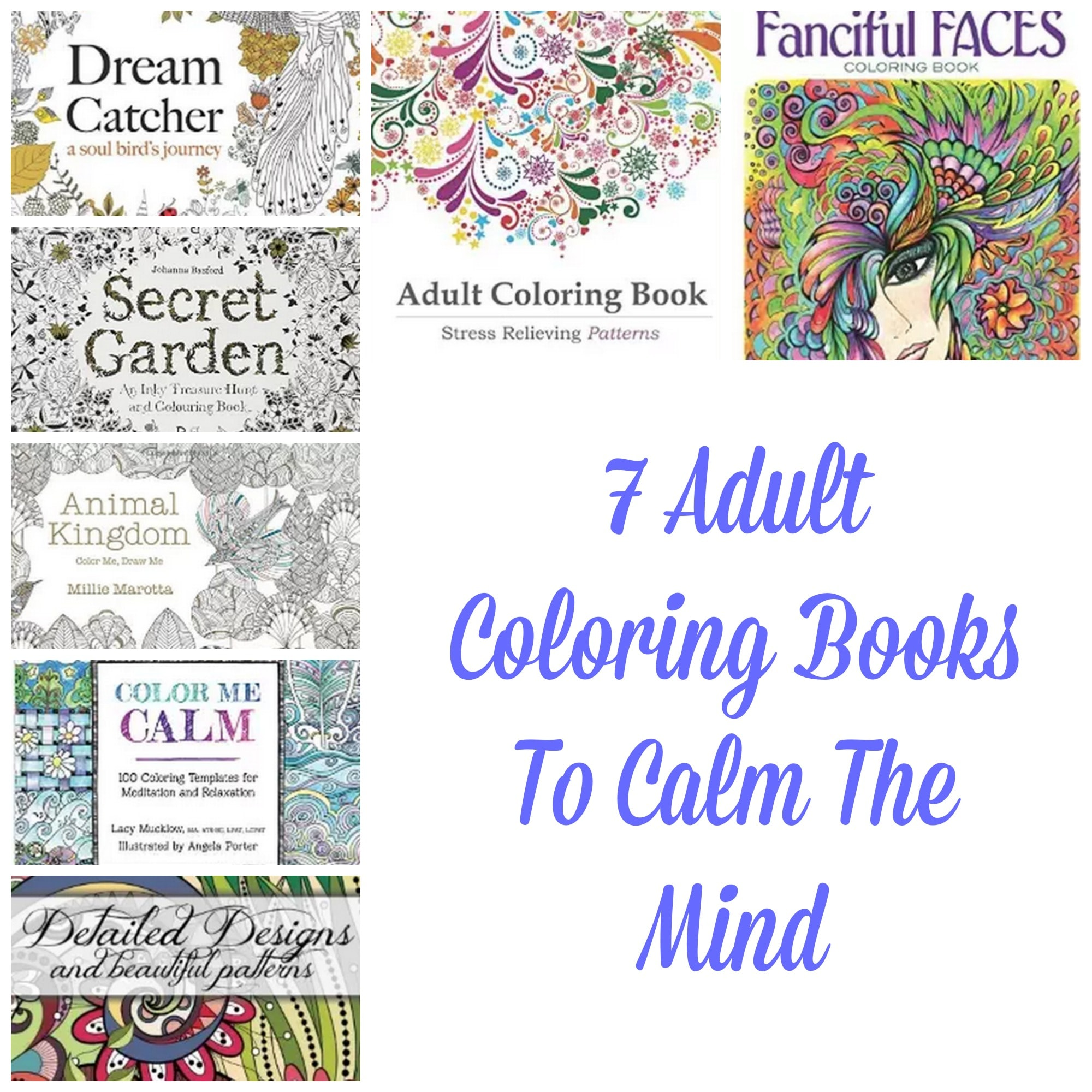 Adult Coloring Books To Calm The Mind
