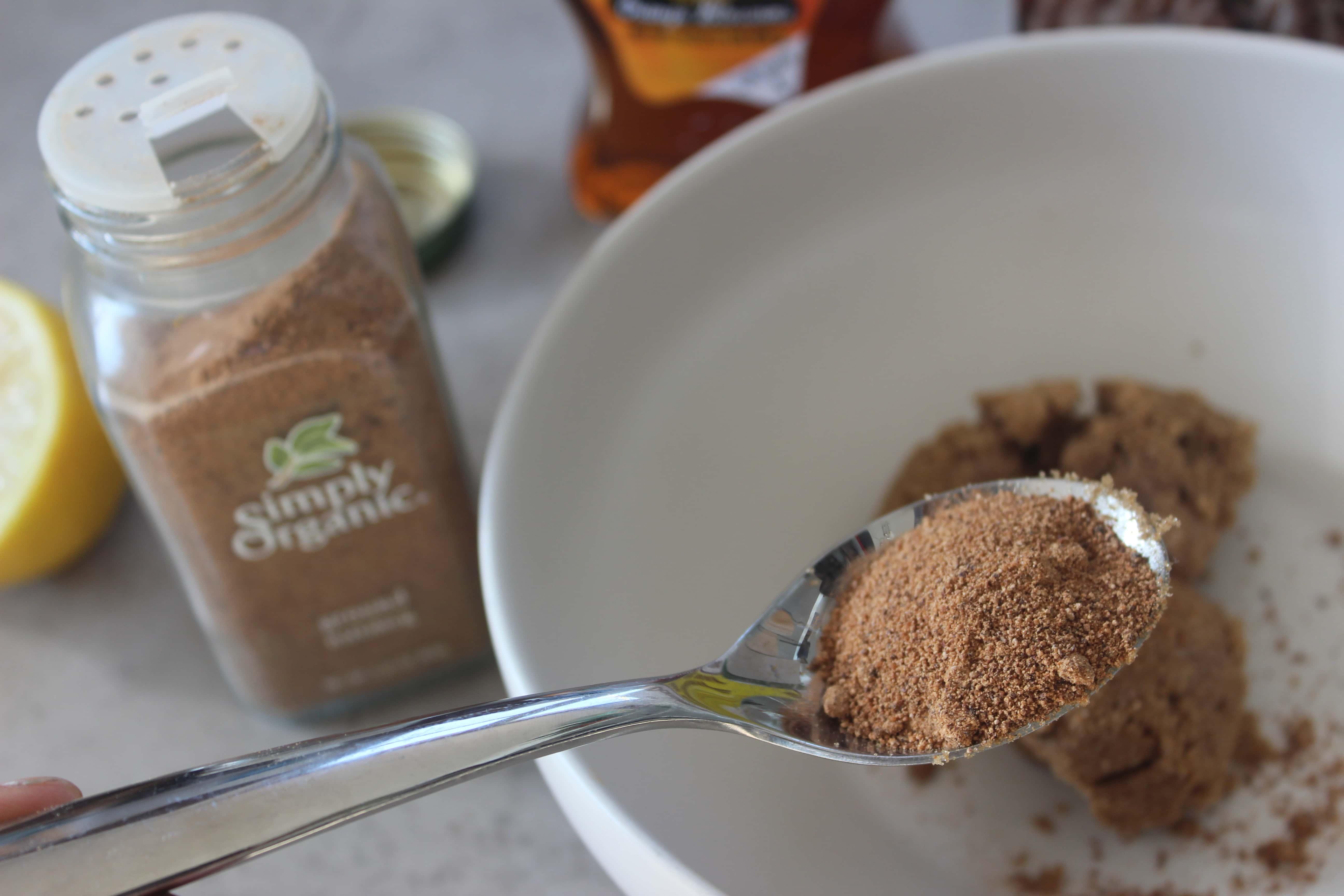 Summer Face Mask For Acne Brown Sugar Honey Nutmeg