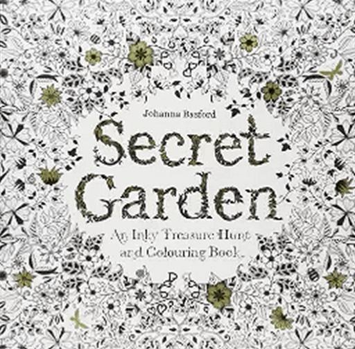 Secret Garden Adult Coloring Book