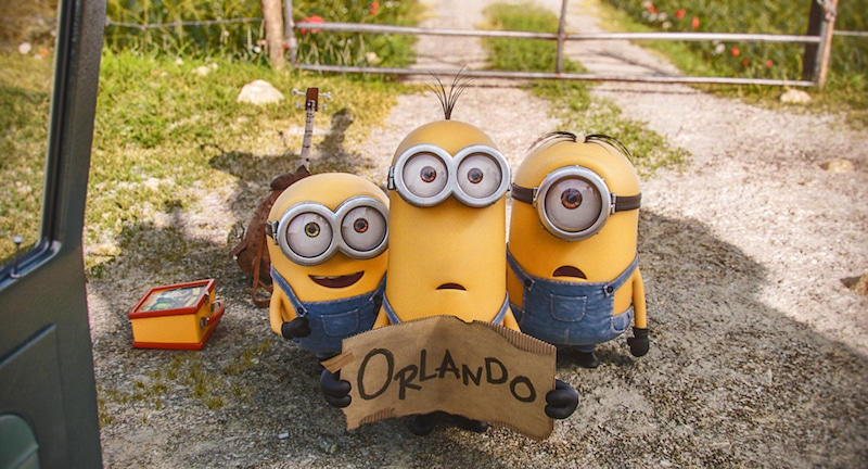 Official Minions Movie Photo