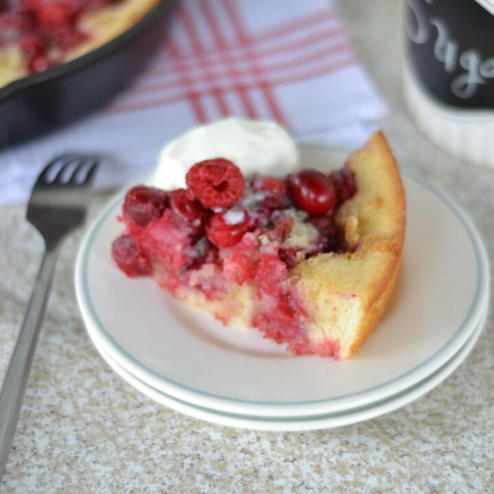 Cran-Raspberry Cobbler Recipe