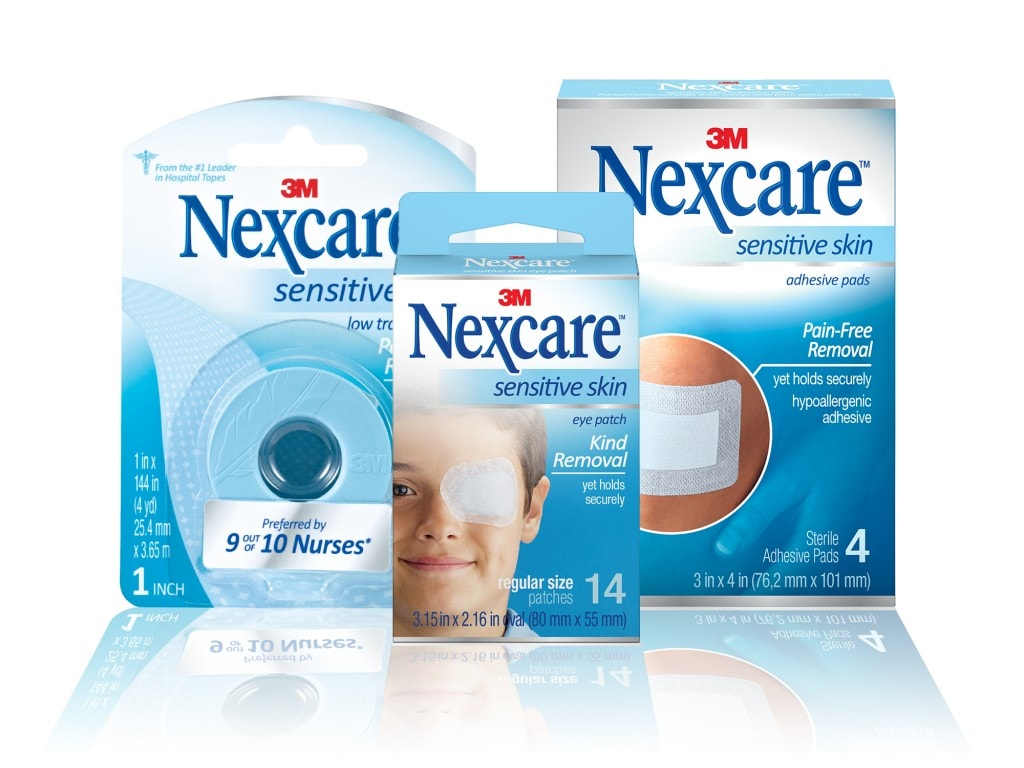 Nexcare Sensitive Skin Collection