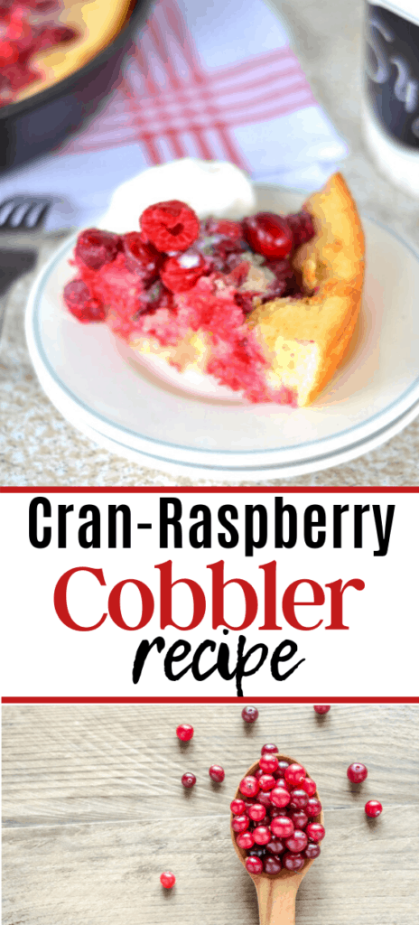 Cranberry Raspberry Cobbler