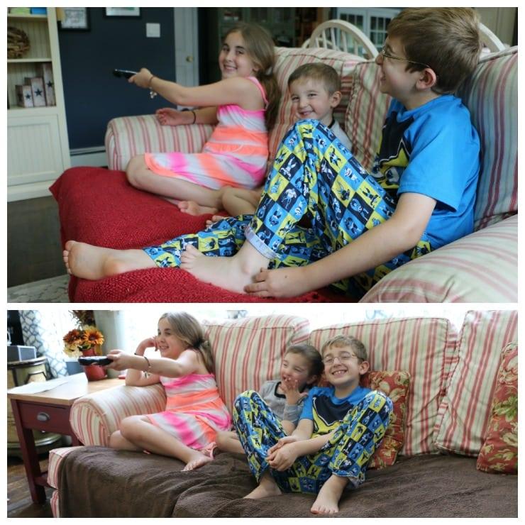 Verizon FiOS Custom TV Vera Kids Collage
