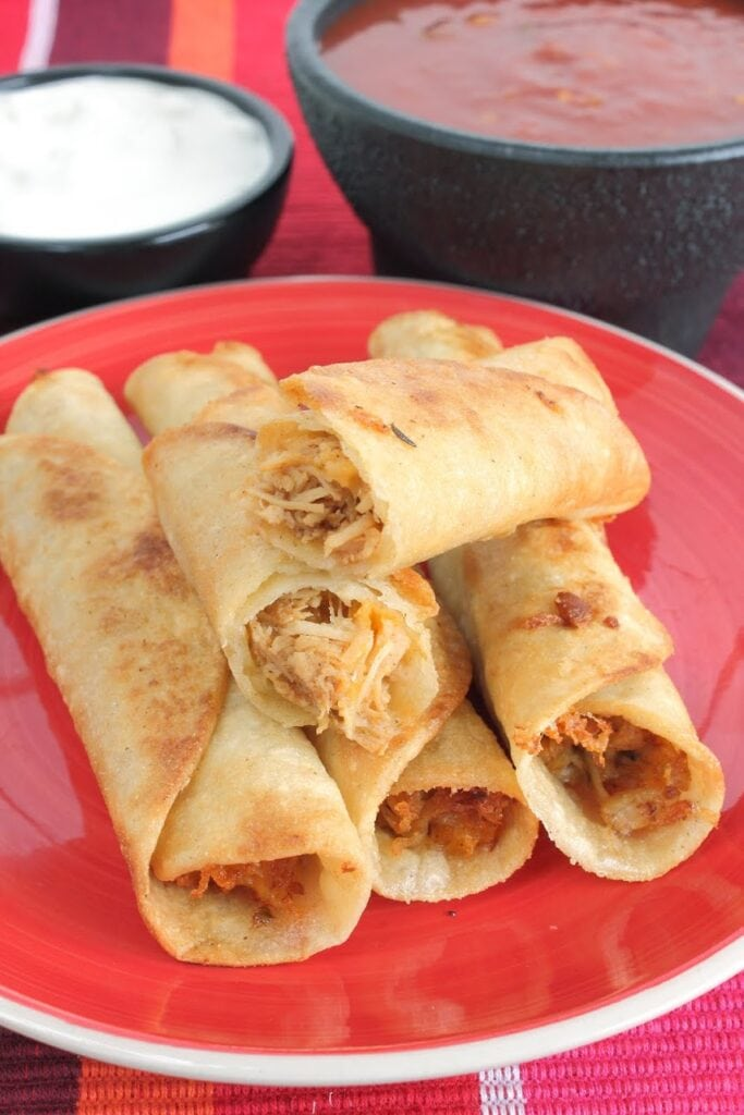 Chicken And Cheese Taquitos Recipe