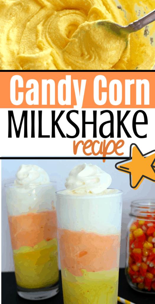 halloween milkshake recipe