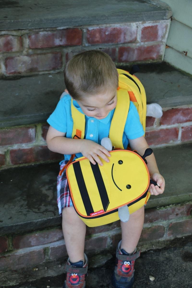 Skip Hop Zoo Packs little kid backpacks Bumble Bee
