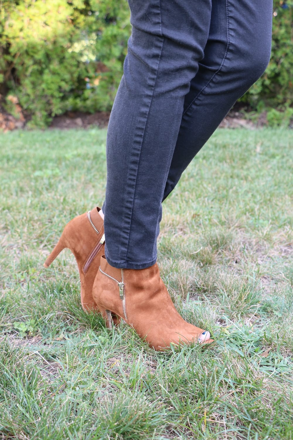 Marc Fisher Suede Booties QVC Shoes