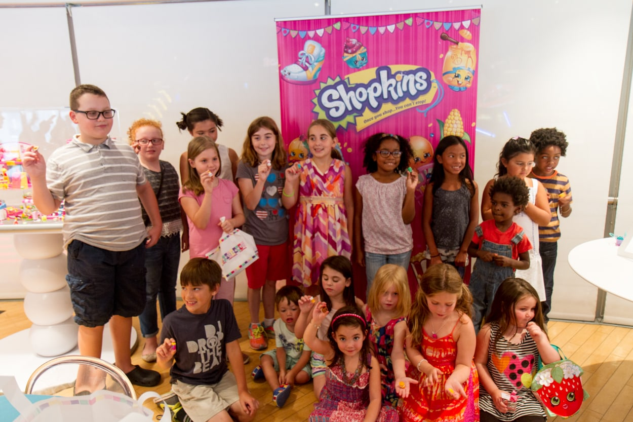 Shopkins Fans at TImes Square Toys R Us NYC