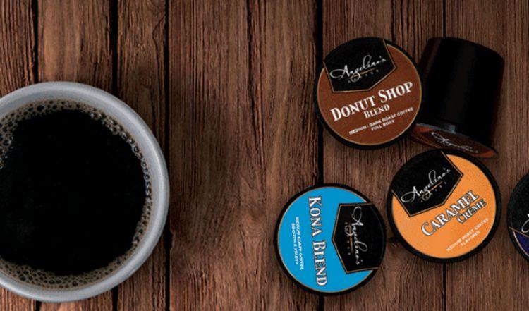 Angelino's Coffee K-Cups On National Coffee Day