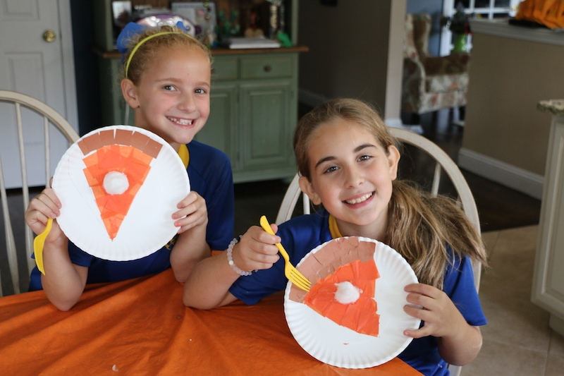 Thanksgiving Pie: Arts And Craft Project For Kids