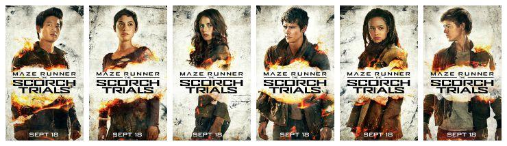 Maze Runner Scorch Trials Poster Collage