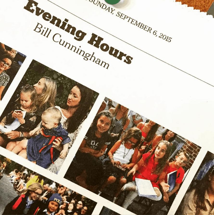 Bill Cunningham NY Times Sunday Style