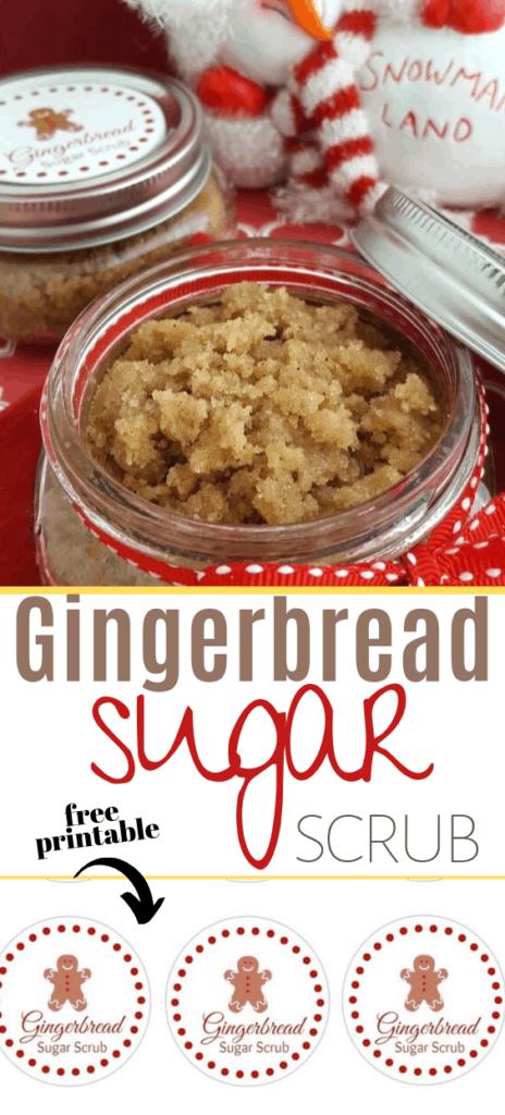 Gingerbread Exfoliating Sugar Scrub