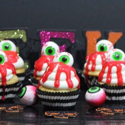 Bleeding Eye Cupcakes Recipe: Perfect For Halloween