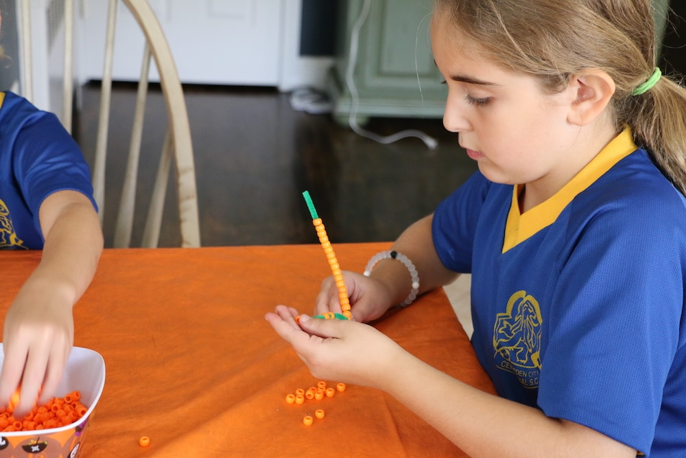 Easy Pumpkin Arts & Craft Project For Kids