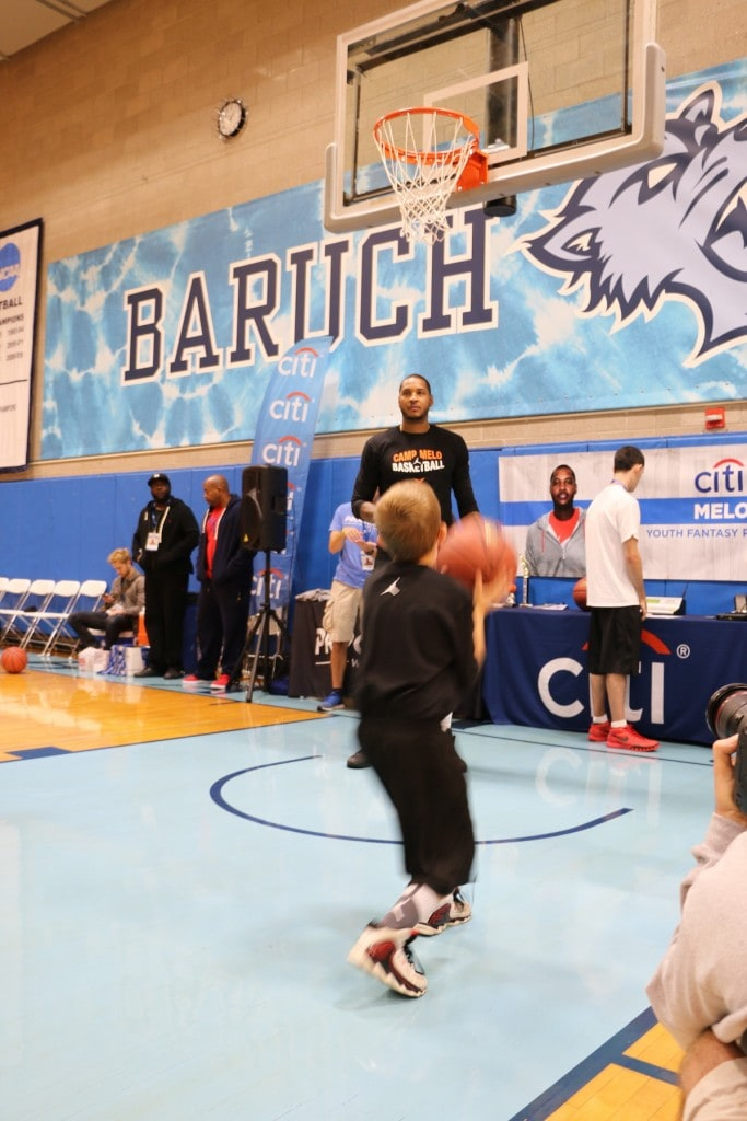 Camp Melo: Basketball Fantasy ProCamp With Carmelo Anthony