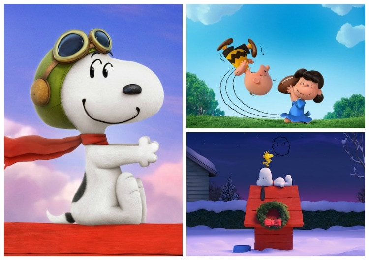 The Peanuts Movie Collage