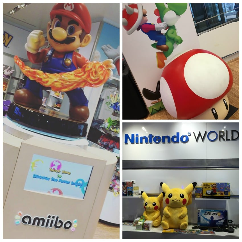 Nintendo World NY Collage 1