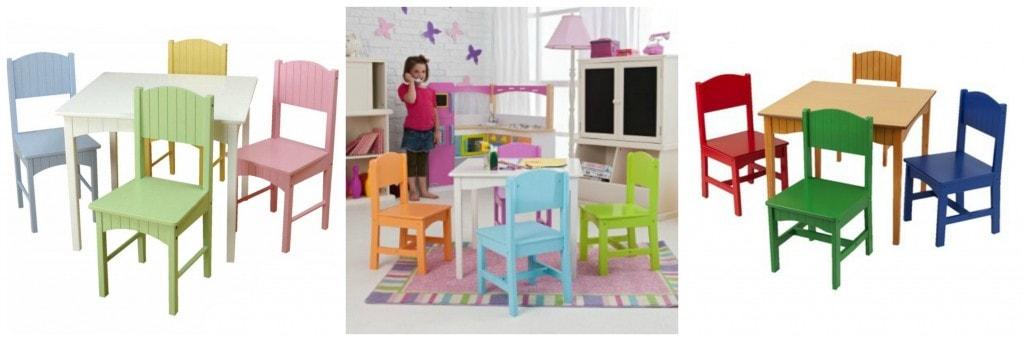 kid kraft nantucket table chairs