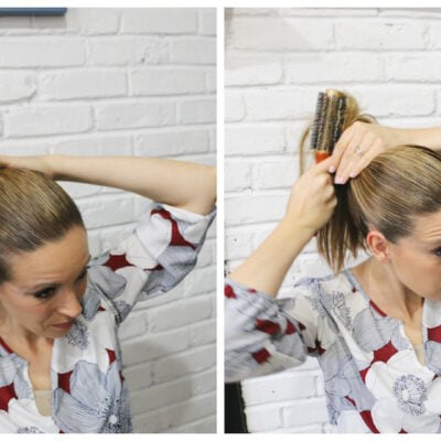 How To: Military Inspired Ponytail #ShareBeauty {Suave Donates 10,000 Products To Troops Overseas}