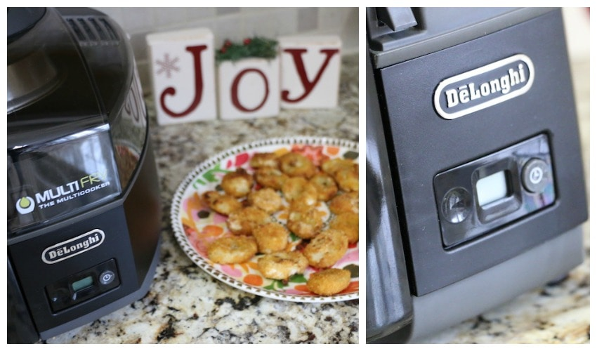 De'Longhi MultiFry Closeup Collage