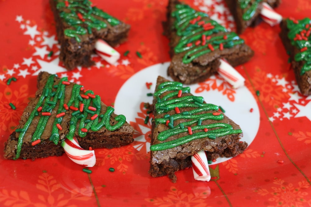 Easy Christmas Brownie Trees: Fun For Kids