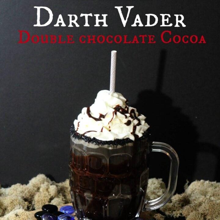 Darth Vader Double Chocolate Cocoa Recipe