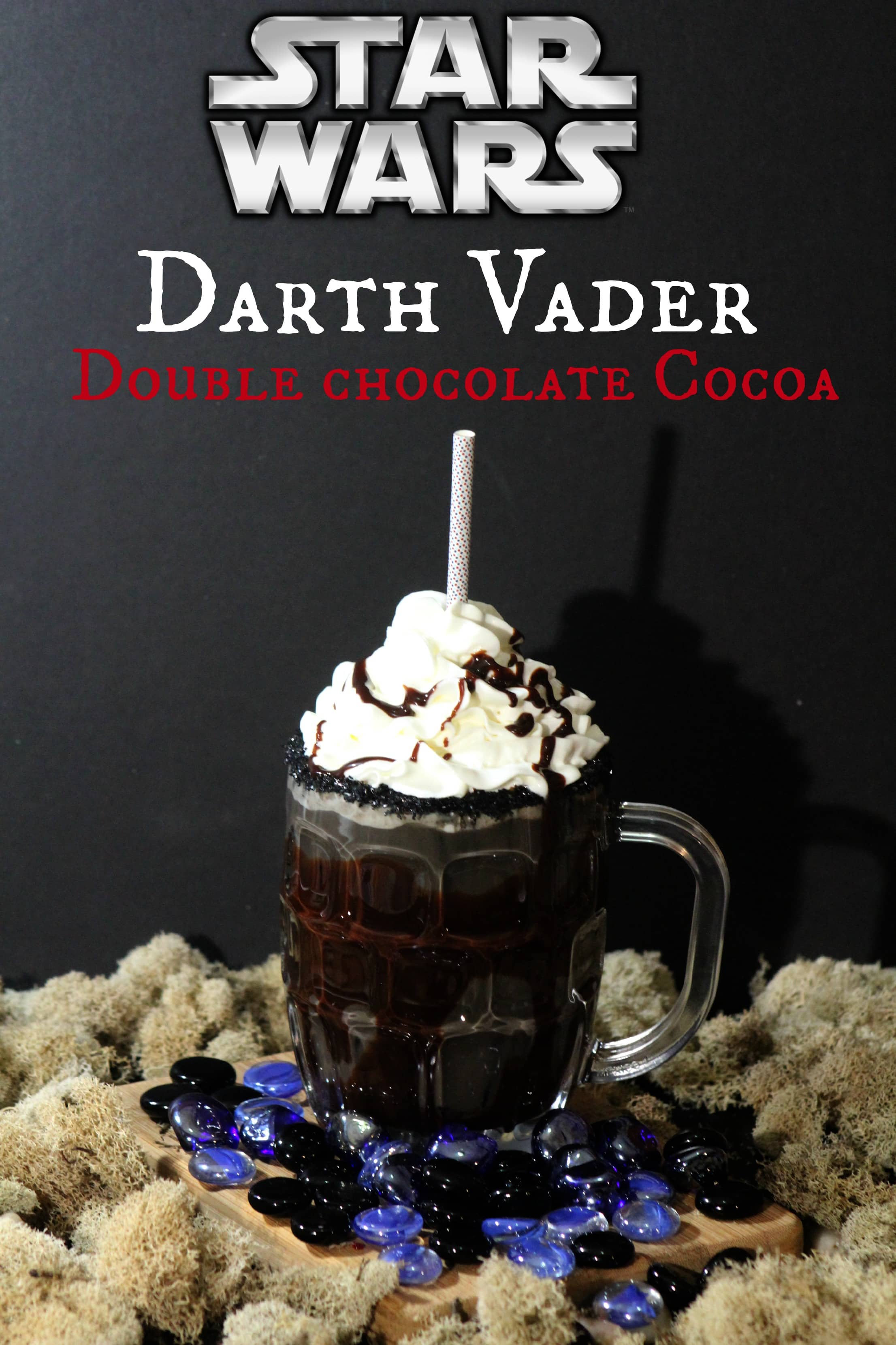 Star wars Darth Vader cocoa 1