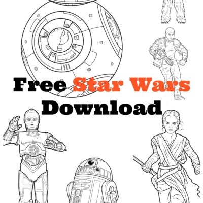 MEGA Star Wars Free Coloring / Activity Kit - Download Here! #StarWars #TheForceAwakens