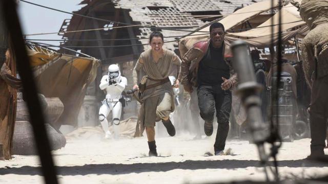 Star Wars: The Force Awakens Scene