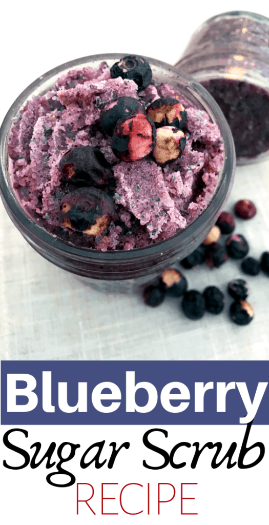 blueberry sugar scrub recipe
