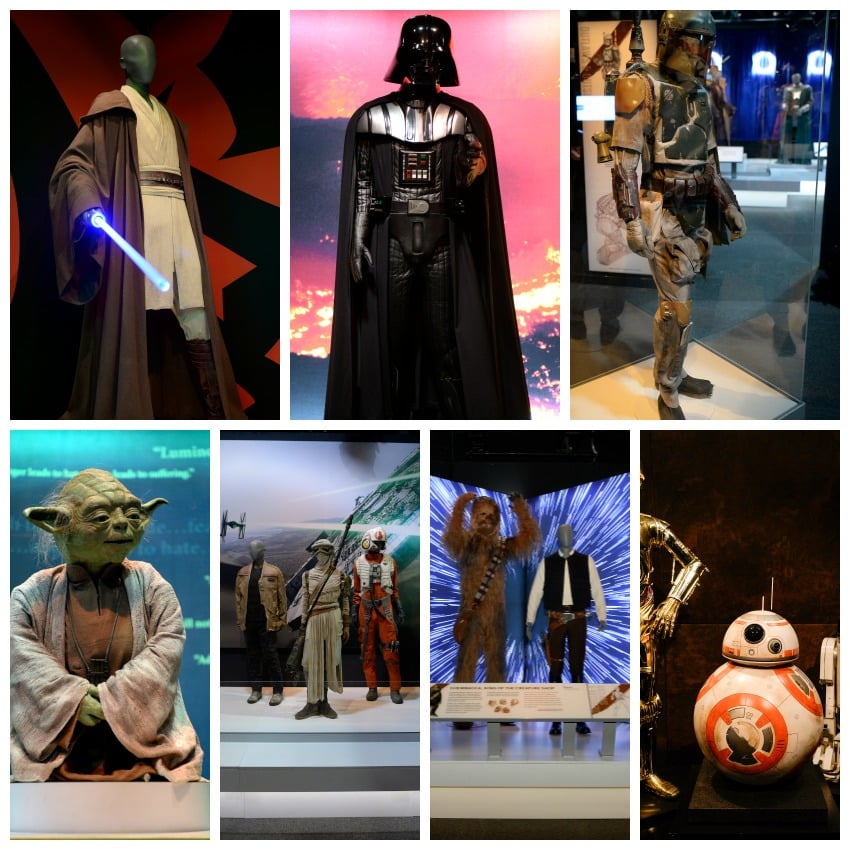 Discovery Times Sqaure Star Wars Collage