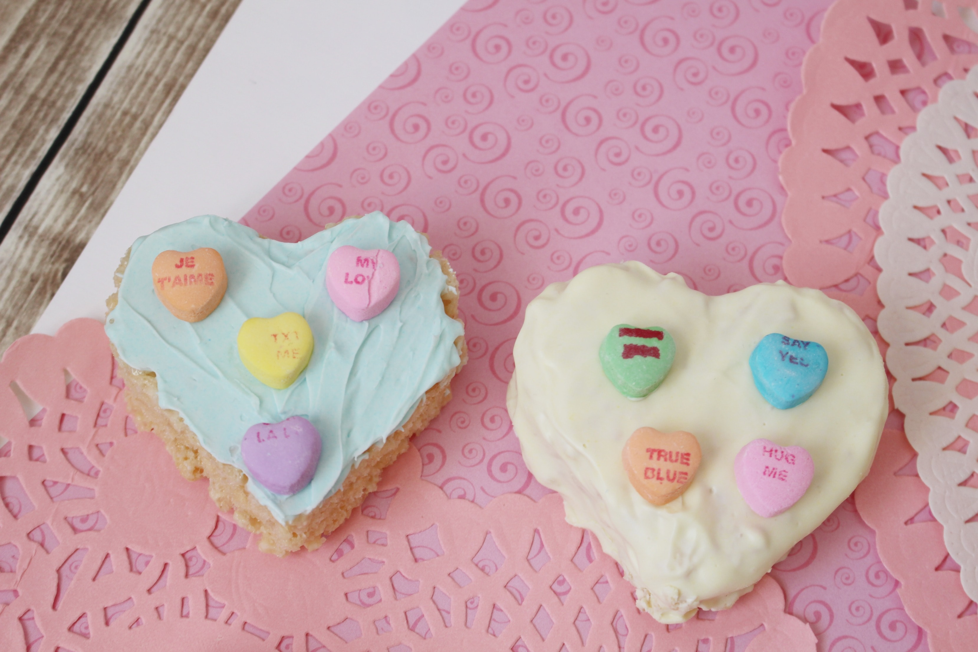 Valentine Rice Krispies: Heart Treats For Kids