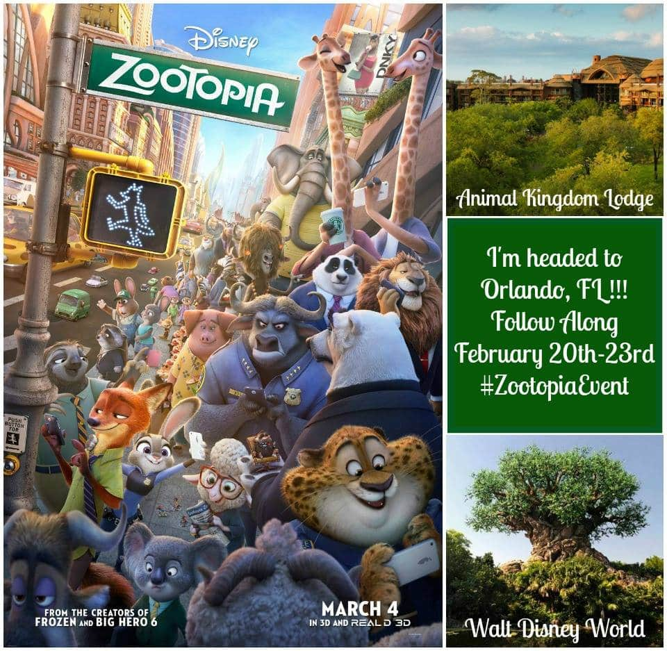 Heading To Disney World To Interview Cast Of Zootopia! #ZootopiaEvent