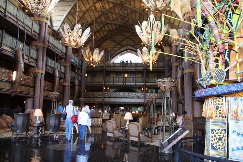 Animal Kingdom Lodge Disney World Lobby