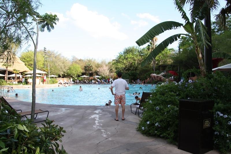 Animal Kingdom Lodge Water Slide At Pool
