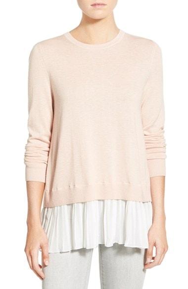 Women's Chelsea28 Pleated Hem Sweater