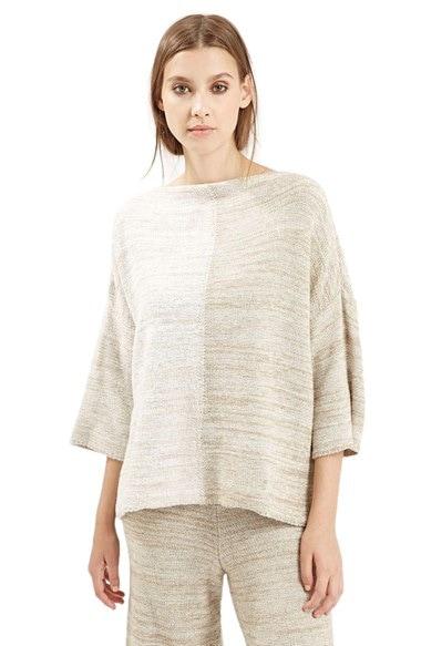 Women's Topshop Space Dye Sweater