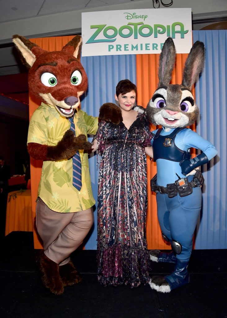 Ginnifer Goodwin Exclusive Zootopia Interview