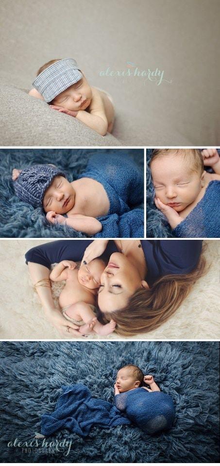 Caleb Alexis Hardy Newborn