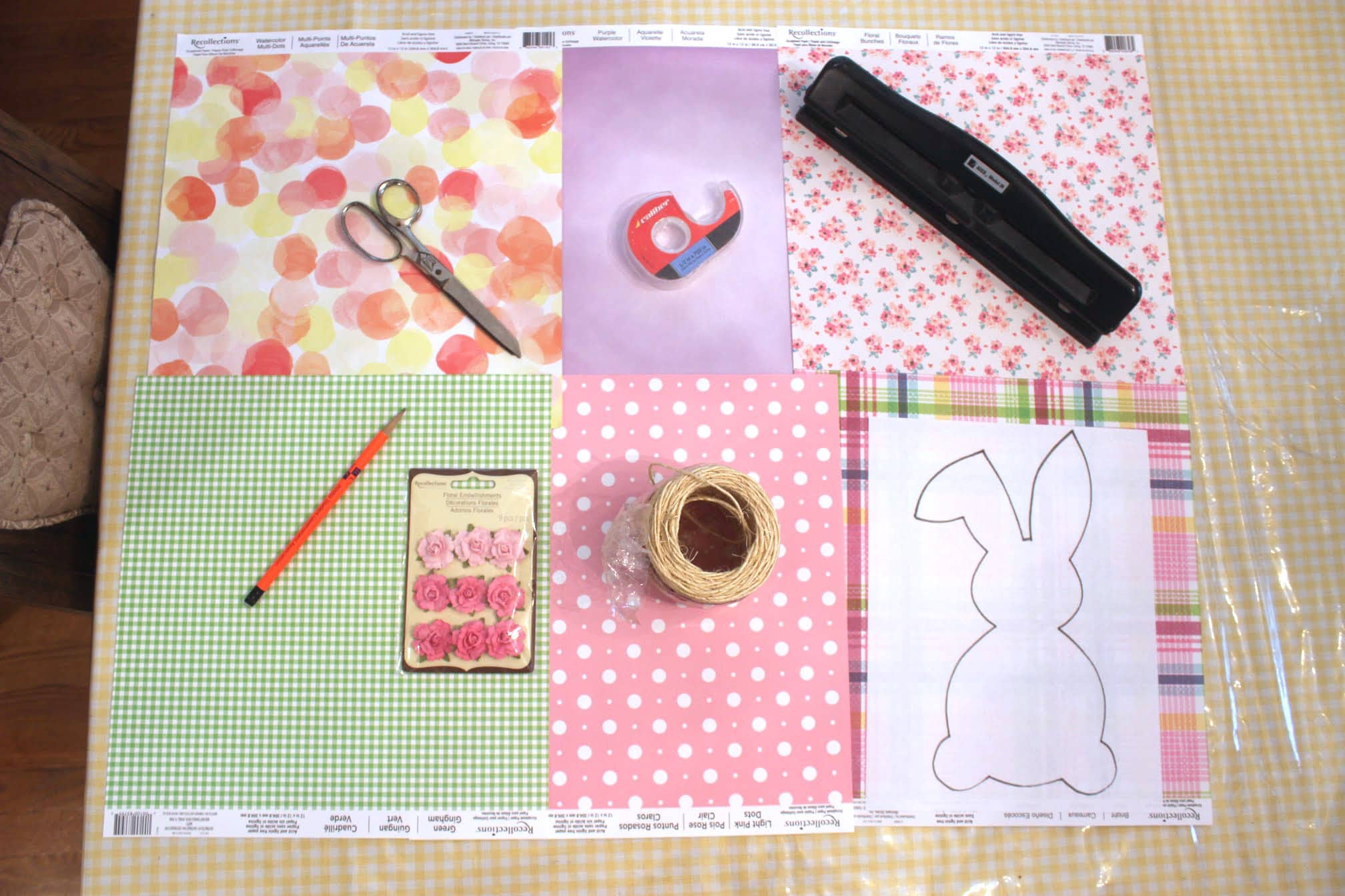 DIY Easter Bunny Banner: How To