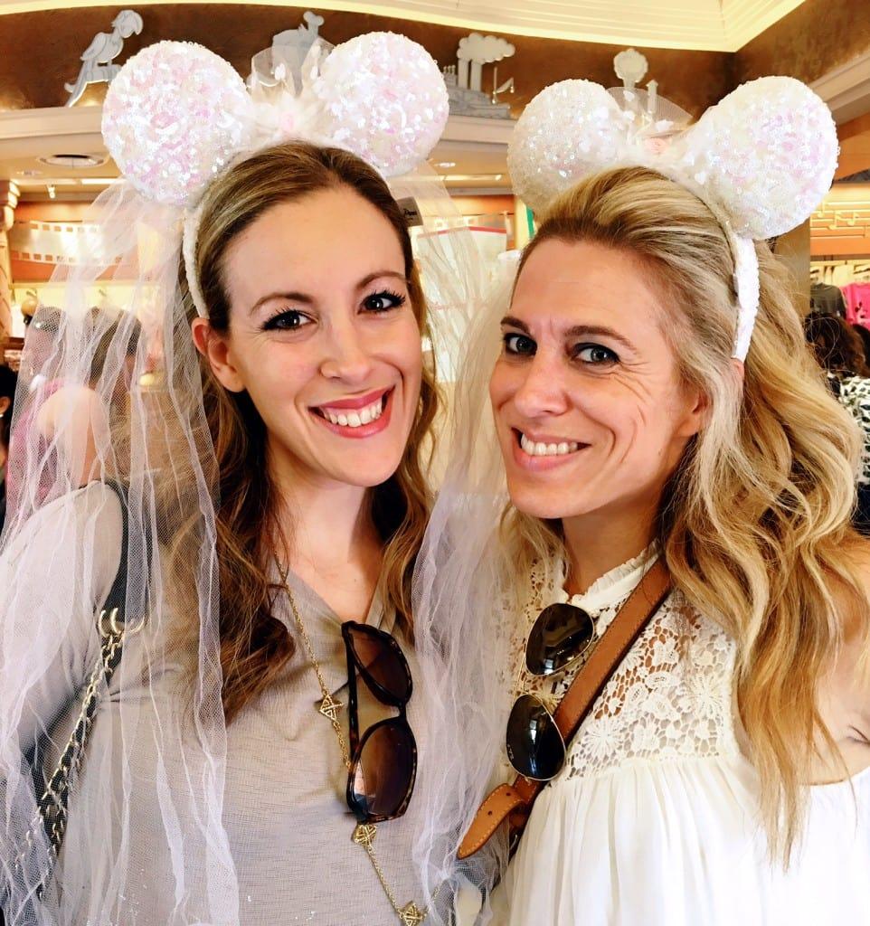 Two Brides At Hollywood Studios