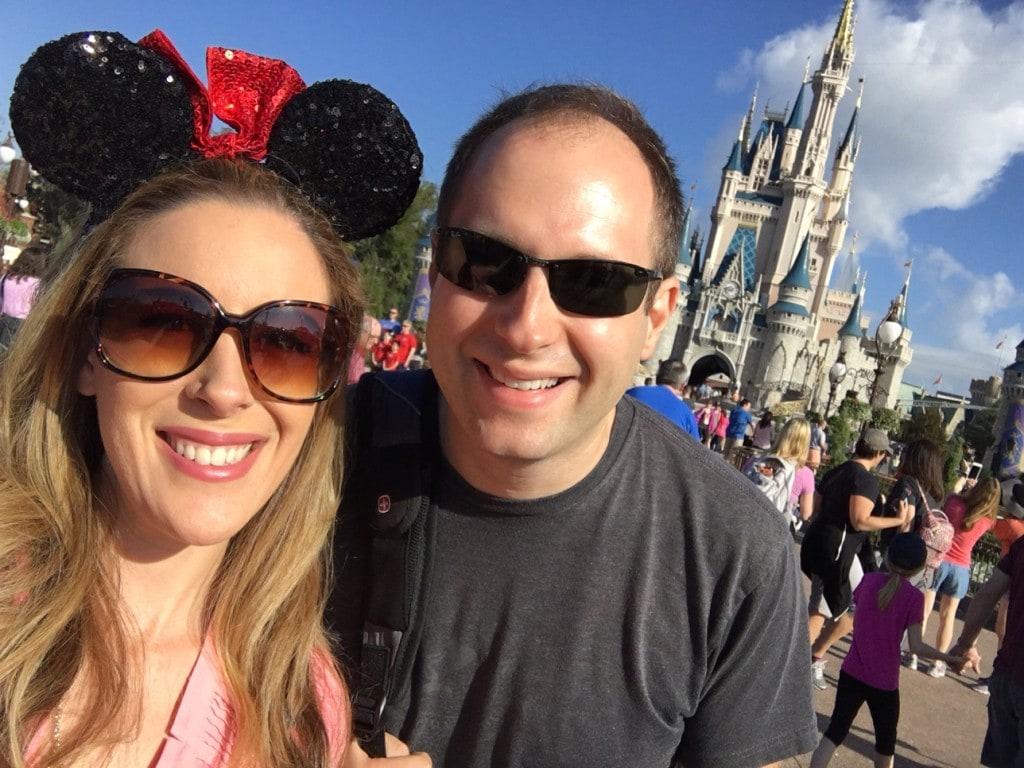 Disney Mickey Ears With Cinderella Castle