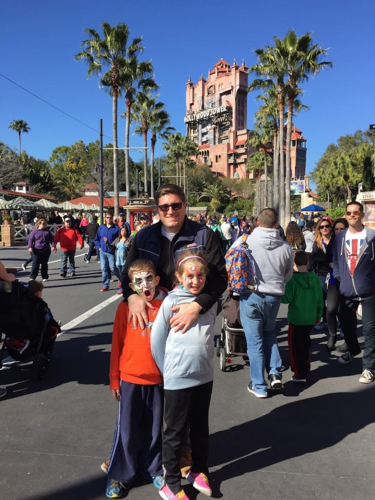 Hollywood Studios With The Kids