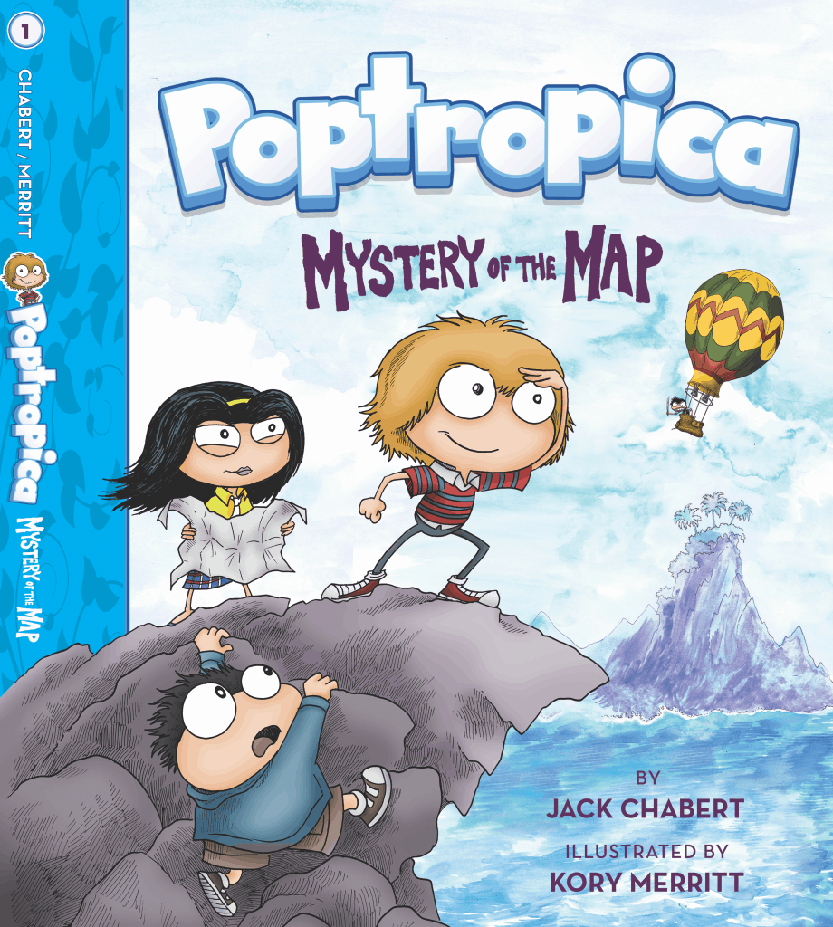 Poptropica Myster of the May BOOK COVER