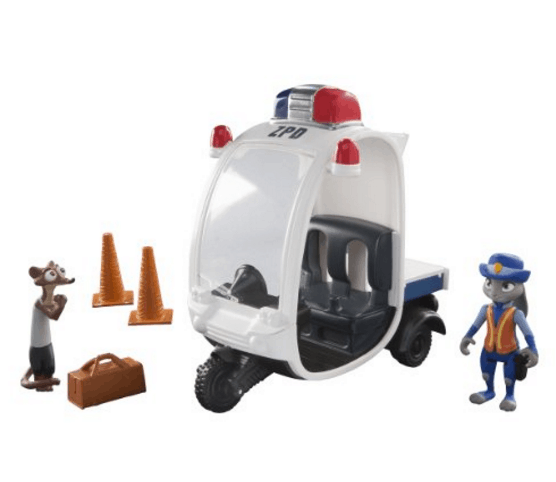 Zootopia Meter Maid Pursuit
