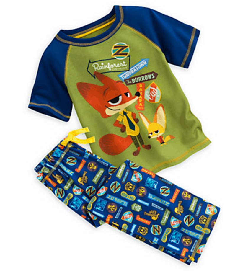 Zootopia Sleep set for Boys