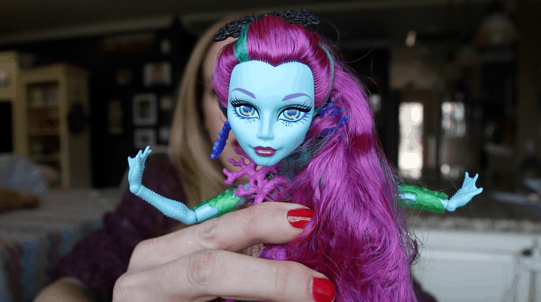 Monster High Great Scarrier Reef Toy Review Plus Sweepstakes Info @MonsterHigh #GreatScarrierReef