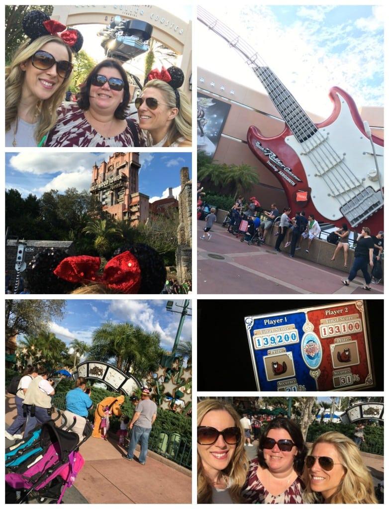 Hollywood Studios Rollercoaster